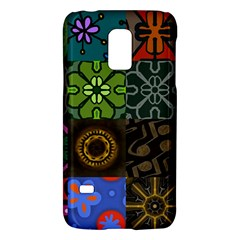 Digitally Created Abstract Patchwork Collage Pattern Galaxy S5 Mini