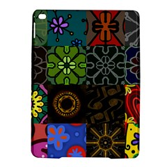 Digitally Created Abstract Patchwork Collage Pattern iPad Air 2 Hardshell Cases