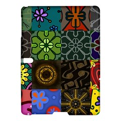 Digitally Created Abstract Patchwork Collage Pattern Samsung Galaxy Tab S (10 5 ) Hardshell Case