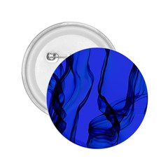 Blue Velvet Ribbon Background 2.25  Buttons