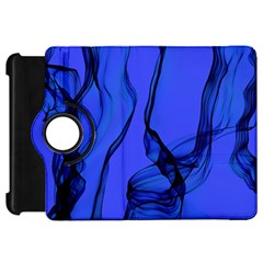 Blue Velvet Ribbon Background Kindle Fire Hd 7