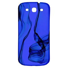 Blue Velvet Ribbon Background Samsung Galaxy S3 S Iii Classic Hardshell Back Case