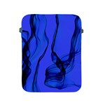 Blue Velvet Ribbon Background Apple iPad 2/3/4 Protective Soft Cases Front