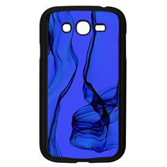 Blue Velvet Ribbon Background Samsung Galaxy Grand DUOS I9082 Case (Black)