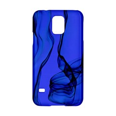 Blue Velvet Ribbon Background Samsung Galaxy S5 Hardshell Case