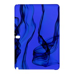 Blue Velvet Ribbon Background Samsung Galaxy Tab Pro 12 2 Hardshell Case
