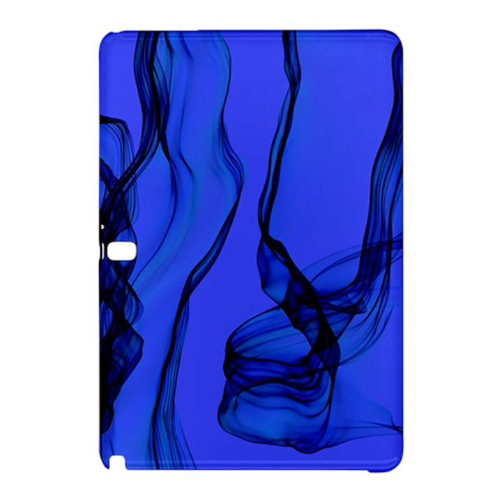 Blue Velvet Ribbon Background Samsung Galaxy Tab Pro 12.2 Hardshell Case
