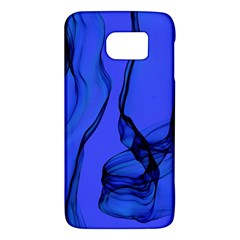 Blue Velvet Ribbon Background Galaxy S6