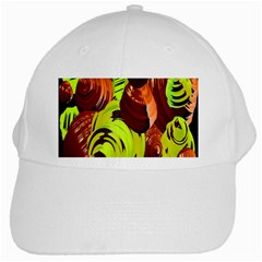 Neutral Abstract Picture Sweet Shit Confectioner White Cap