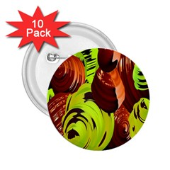 Neutral Abstract Picture Sweet Shit Confectioner 2 25  Buttons (10 Pack)