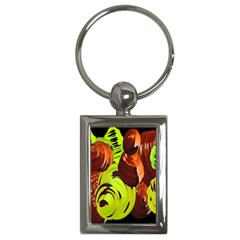 Neutral Abstract Picture Sweet Shit Confectioner Key Chains (rectangle)