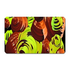 Neutral Abstract Picture Sweet Shit Confectioner Magnet (rectangular)