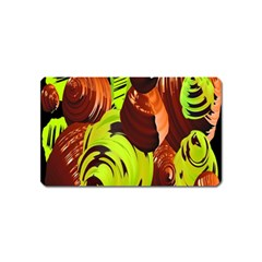 Neutral Abstract Picture Sweet Shit Confectioner Magnet (Name Card)