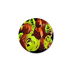 Neutral Abstract Picture Sweet Shit Confectioner Golf Ball Marker (10 pack)
