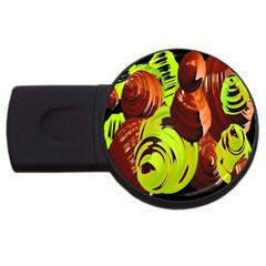 Neutral Abstract Picture Sweet Shit Confectioner Usb Flash Drive Round (2 Gb)