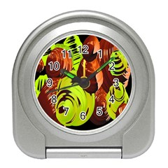 Neutral Abstract Picture Sweet Shit Confectioner Travel Alarm Clocks