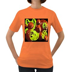 Neutral Abstract Picture Sweet Shit Confectioner Women s Dark T-Shirt