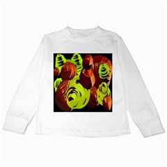 Neutral Abstract Picture Sweet Shit Confectioner Kids Long Sleeve T-Shirts