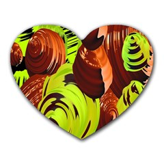 Neutral Abstract Picture Sweet Shit Confectioner Heart Mousepads
