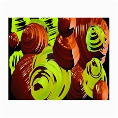 Neutral Abstract Picture Sweet Shit Confectioner Small Glasses Cloth (2-Side)