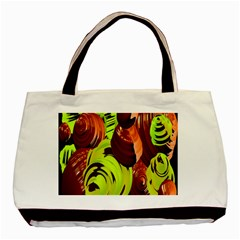 Neutral Abstract Picture Sweet Shit Confectioner Basic Tote Bag (Two Sides)