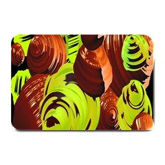 Neutral Abstract Picture Sweet Shit Confectioner Plate Mats
