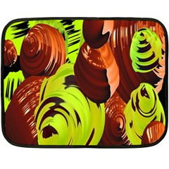 Neutral Abstract Picture Sweet Shit Confectioner Double Sided Fleece Blanket (mini)