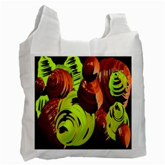 Neutral Abstract Picture Sweet Shit Confectioner Recycle Bag (Two Side)