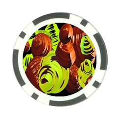 Neutral Abstract Picture Sweet Shit Confectioner Poker Chip Card Guard (10 pack)
