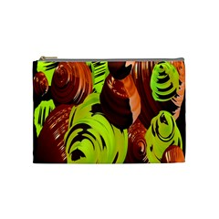 Neutral Abstract Picture Sweet Shit Confectioner Cosmetic Bag (Medium)