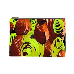 Neutral Abstract Picture Sweet Shit Confectioner Cosmetic Bag (Large)