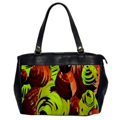 Neutral Abstract Picture Sweet Shit Confectioner Office Handbags