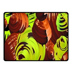 Neutral Abstract Picture Sweet Shit Confectioner Fleece Blanket (Small)