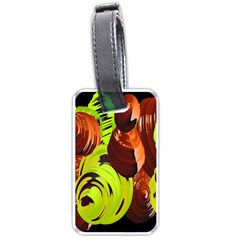 Neutral Abstract Picture Sweet Shit Confectioner Luggage Tags (one Side)