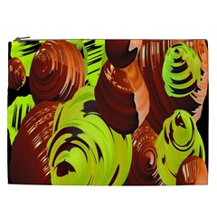 Neutral Abstract Picture Sweet Shit Confectioner Cosmetic Bag (XXL)