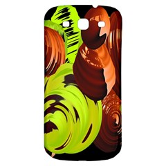 Neutral Abstract Picture Sweet Shit Confectioner Samsung Galaxy S3 S III Classic Hardshell Back Case