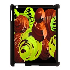 Neutral Abstract Picture Sweet Shit Confectioner Apple iPad 3/4 Case (Black)