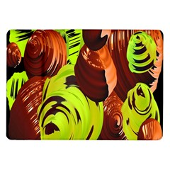Neutral Abstract Picture Sweet Shit Confectioner Samsung Galaxy Tab 10.1  P7500 Flip Case