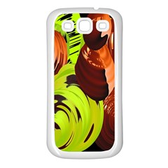 Neutral Abstract Picture Sweet Shit Confectioner Samsung Galaxy S3 Back Case (white)
