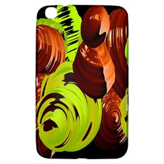 Neutral Abstract Picture Sweet Shit Confectioner Samsung Galaxy Tab 3 (8 ) T3100 Hardshell Case