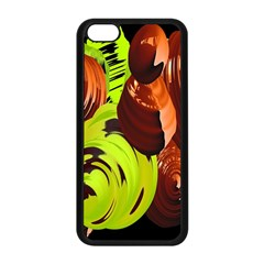 Neutral Abstract Picture Sweet Shit Confectioner Apple Iphone 5c Seamless Case (black)