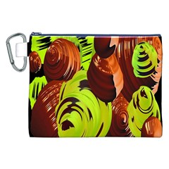 Neutral Abstract Picture Sweet Shit Confectioner Canvas Cosmetic Bag (XXL)