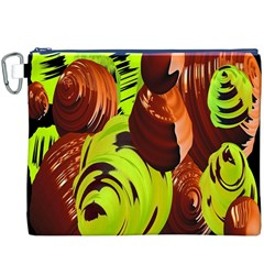 Neutral Abstract Picture Sweet Shit Confectioner Canvas Cosmetic Bag (XXXL)