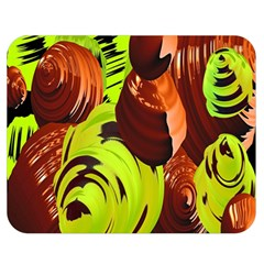 Neutral Abstract Picture Sweet Shit Confectioner Double Sided Flano Blanket (medium)