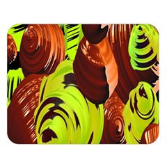 Neutral Abstract Picture Sweet Shit Confectioner Double Sided Flano Blanket (large)