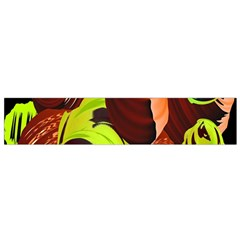Neutral Abstract Picture Sweet Shit Confectioner Flano Scarf (Small)