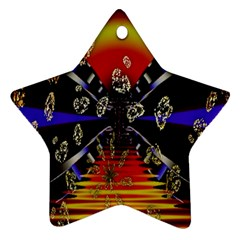 Diamond Manufacture Ornament (Star)