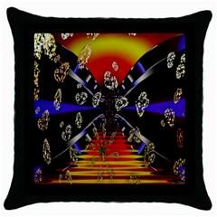 Diamond Manufacture Throw Pillow Case (Black)