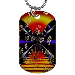 Diamond Manufacture Dog Tag (two Sides)