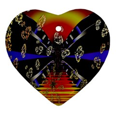 Diamond Manufacture Heart Ornament (Two Sides)